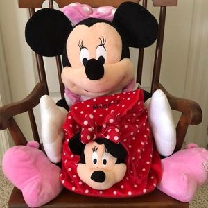 Disney Minnie Mouse Plush Mini Backpack